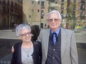Roser Rosés i Pere Basté, membres del Consell dels savis